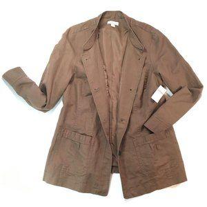 New Coldwater Creek Linen Jacket Plus Size 20/22